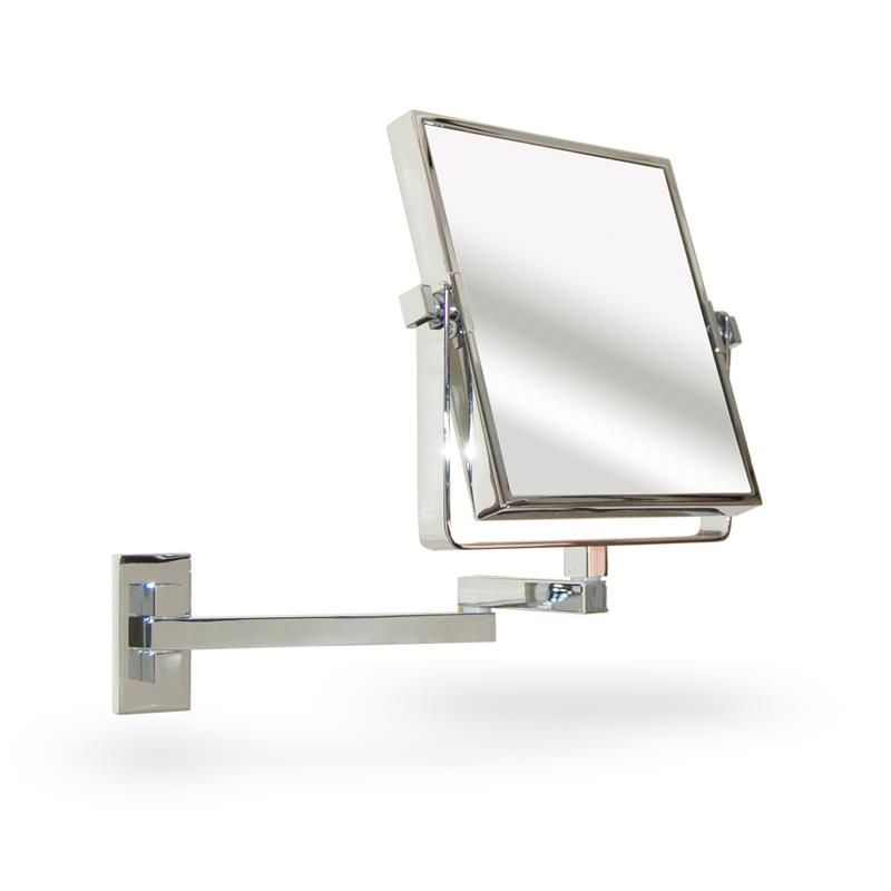 Extendable Square Wall Mounted Vanity Shaving Mirror For The Home Pinterest Wall Mount