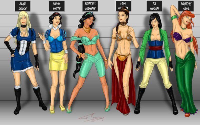Dessin personnages disney dessin par fsanporte sur - Comment dessiner une princesse disney ...