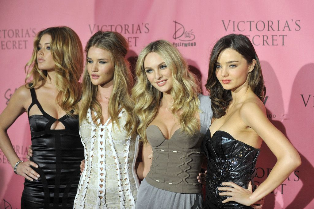 Miranda Kerr, Doutzen Kroes, Candice Swanepoel, Rosie Huntington-Whiteley