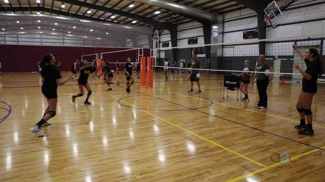 Dynamic Ball Control Drill The Art Of Coaching Volleyball Coaching Volleyball Volleyball Set Volleyball
