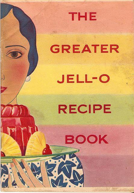 VIntage Jell-O Recipe book