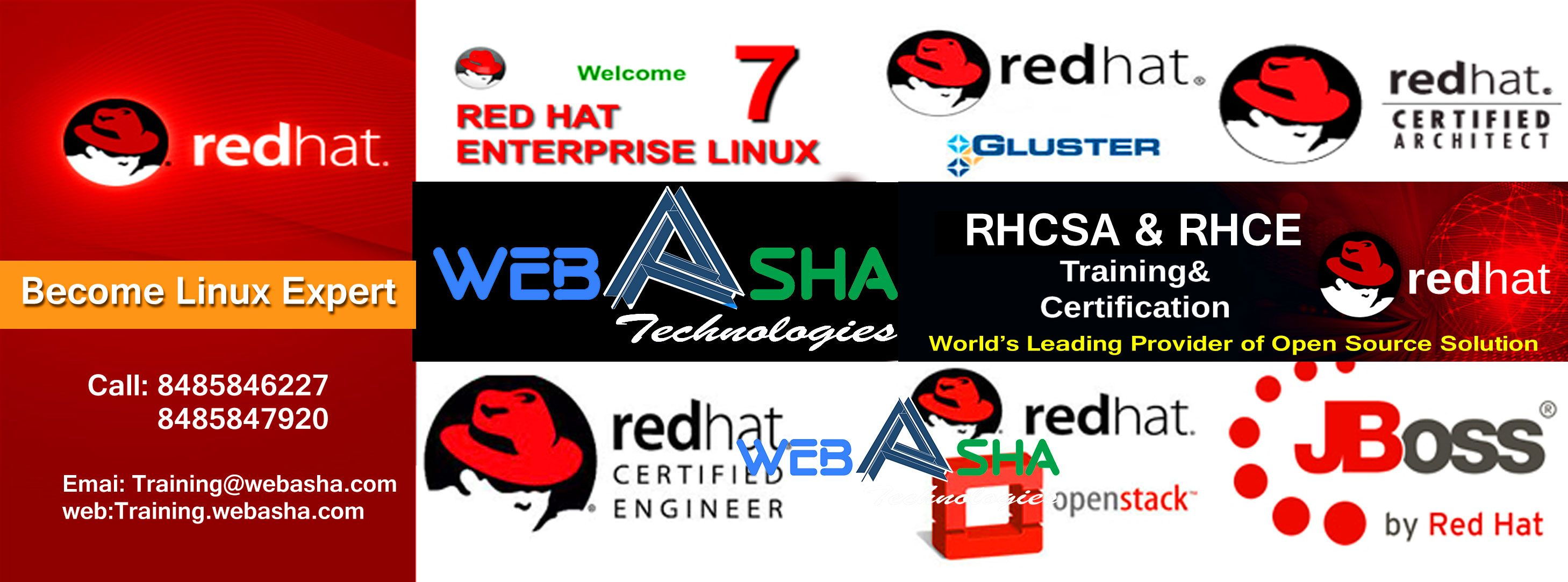 Webasha Provide Redhat Certification Exam Fee Offers And Other