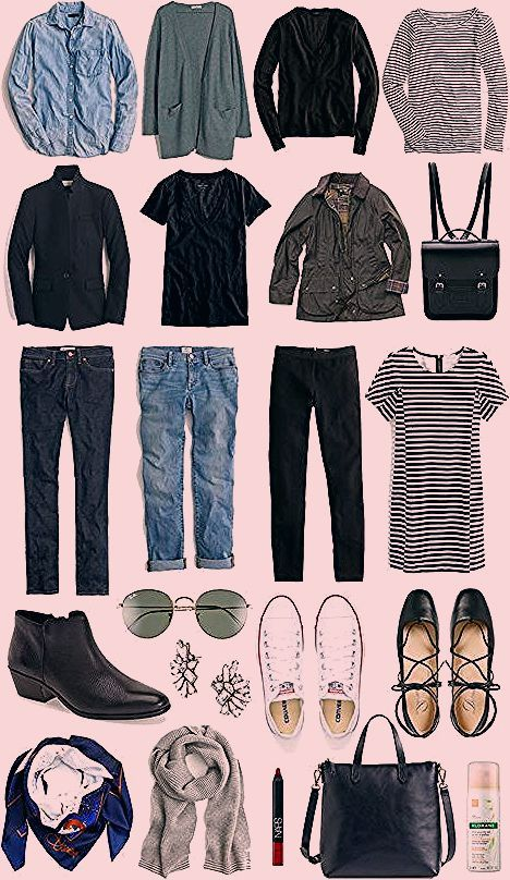 Photo of A Travel Capsule Wardrobe: Your Ultimate Packing List