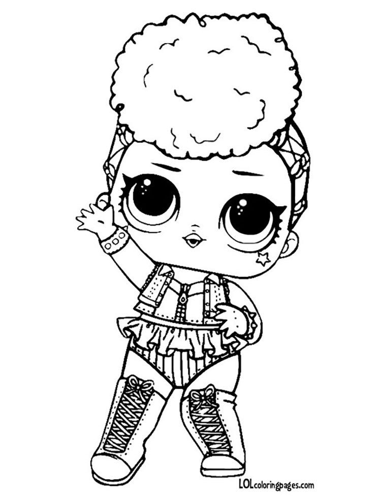 Lol Surprise Punk Boy Coloring Pages Coloring Pages Unicorn