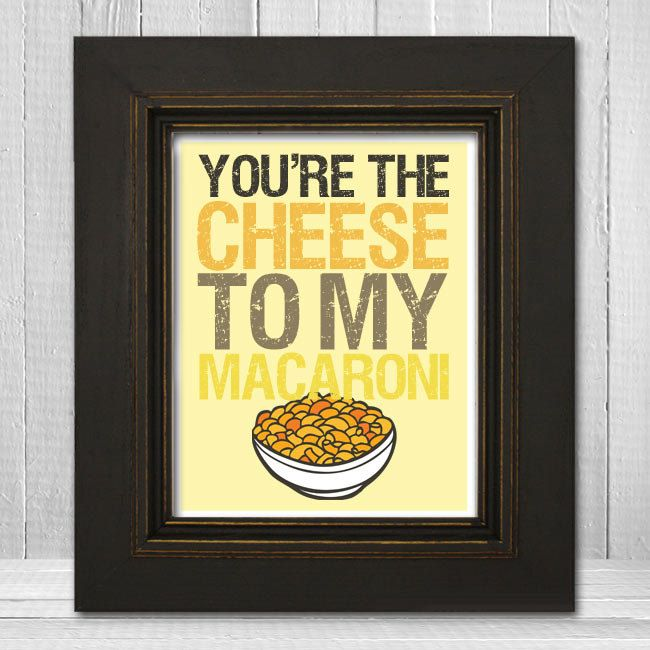 Funny Wall Print 11x14 - Silly Kitchen Wall Print - Humorous Wall ...