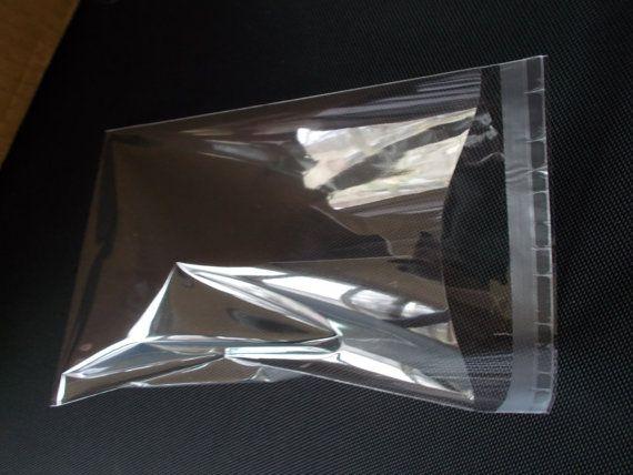"100 5 3//4/""x 9/"" Clear Resealable Cello//Poly Bags Envelopes"