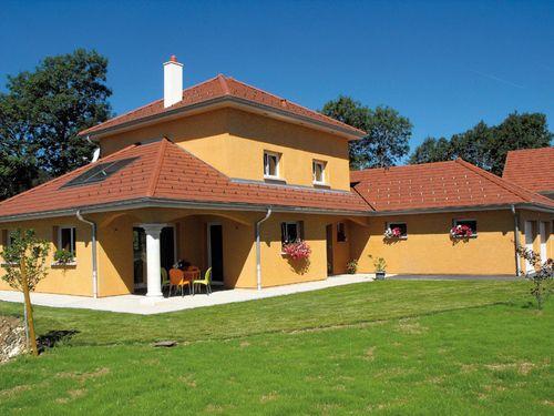 Maison contemporaine 3 plan des maisons Pinterest - facade de maison contemporaine