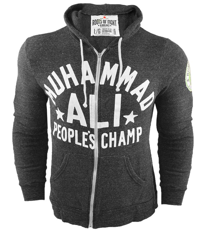 Roots of Fight Ali Rumble People's Champ Anniversary Hoodie