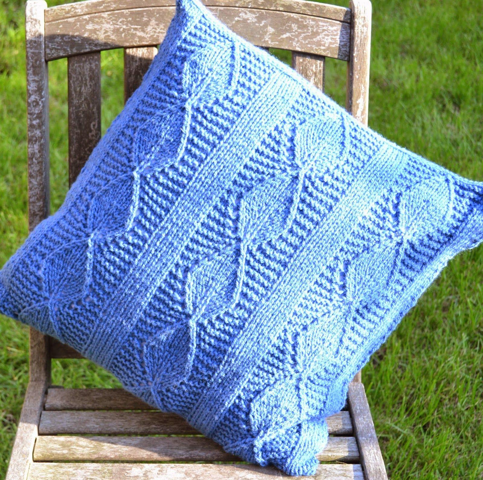 Ginx Craft: Aran Leaf Cushion Pattern | Cushion pattern ...