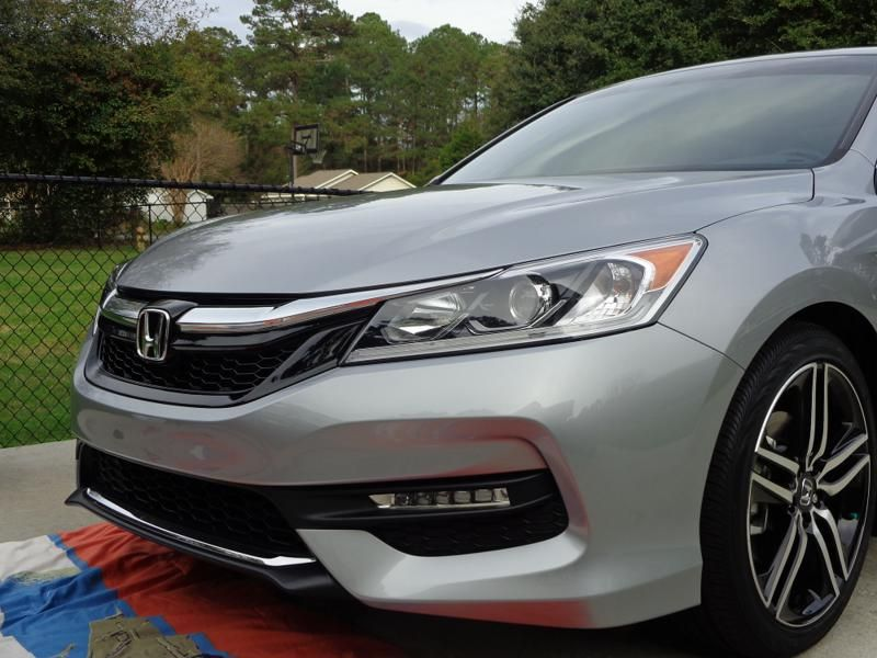 2016 Lunar Silver Accord with Sport Grille Honda accord