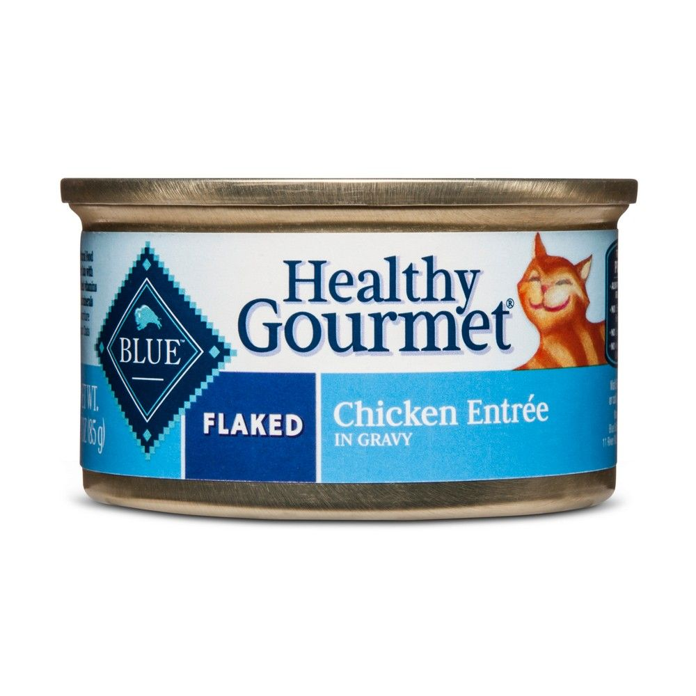 Blue Buffalo Healthy Gourmet Adult Flaked Chicken Wet Cat Food