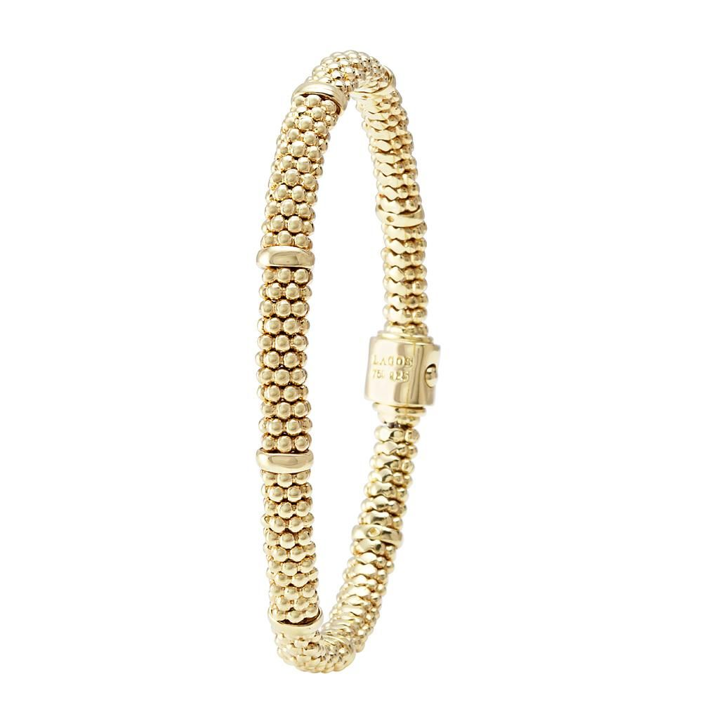 Gold Beaded Bracelet   Caviar Gold   LAGOS Jewelry