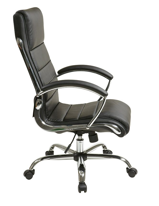 Bassett Ellis Executive Chair Occasional Table And Chairs Inspired By Chrome In Black Product No Bp Elcx U6