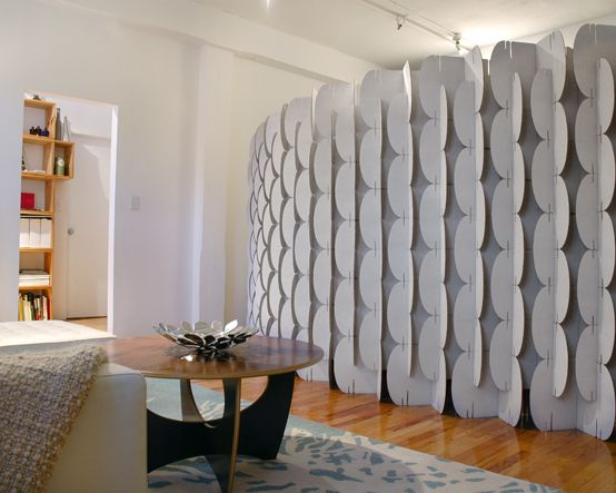 Magma Mio Cardboard Wall Room Divider Dekorative Raumteiler