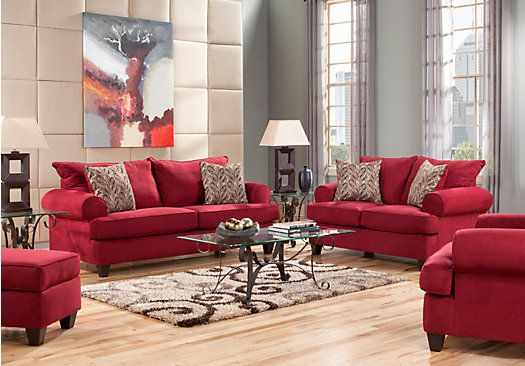 Shop For A Brookhaven Crimson 5 Pc Living Room At Rooms To Go Find Sets That Will Look Great In Your Home And Complement The Rest Of