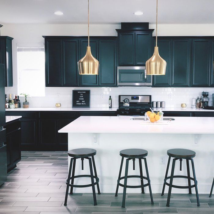 Lighting Above Kitchen Cabinets: Knoxville 1-Light Geometric Pendant In 2019