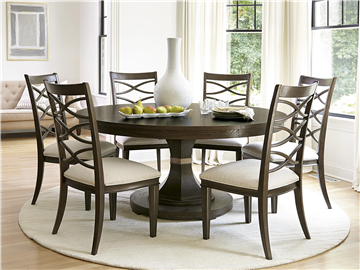 60 And Can Extend To Seat 8 Universal Furniture California Round Dining Table 475657