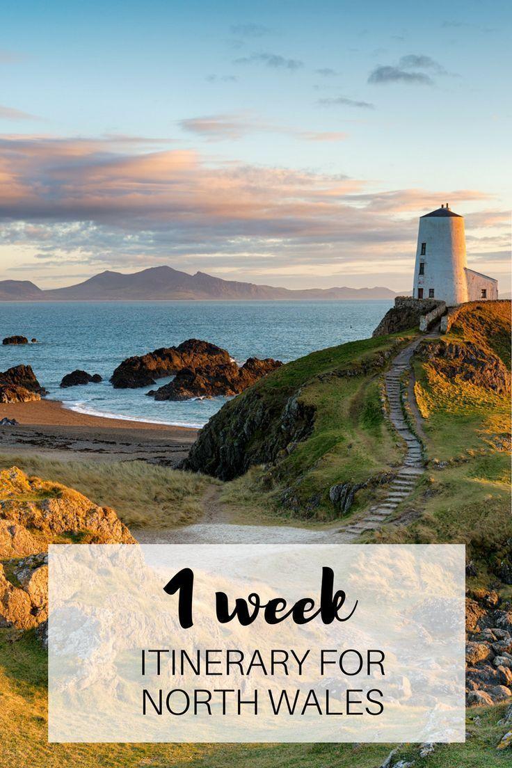1 week itinerary in North Wales #travel #bucketlist #travelinspo #travelinspiration #travelgoals #adventuretravel #traveltips #travelbucketlist #wales