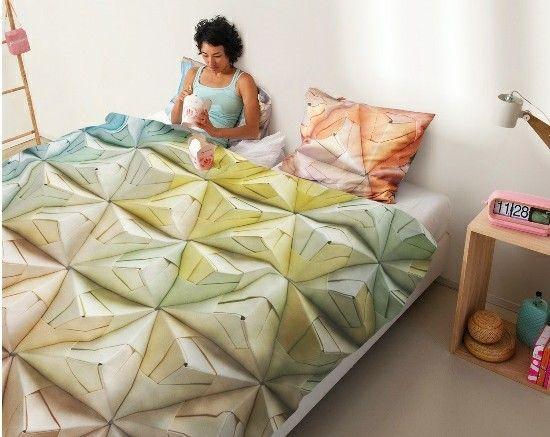 Lustige Bettwäsche im Schlafzimmer bietet originelle Deko Ideen ...