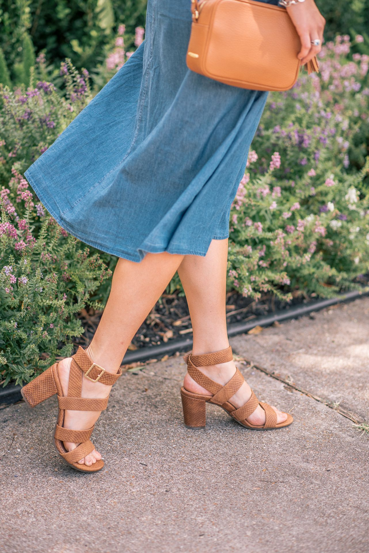 e702670206d Blogger  TaylerMalott adds the pretty and versatile Blaire Heels to her  fall wardrobe.