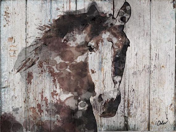 """Wild Horse. Canvas Print by Irena Orlov up to 72"""", large ..."""