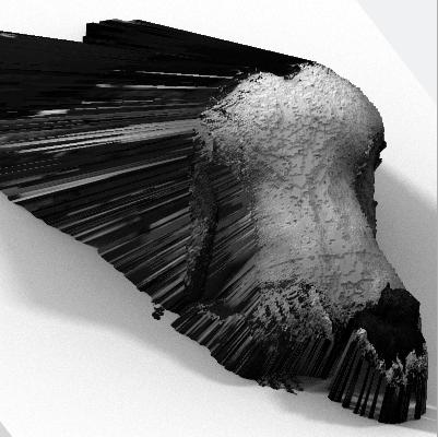 atlani art and code sculpture numérique impression 3d scan