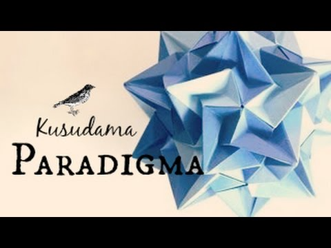 Photo of Origami ball / Kusudama Paradigma (Ekaterina Lukasheva)