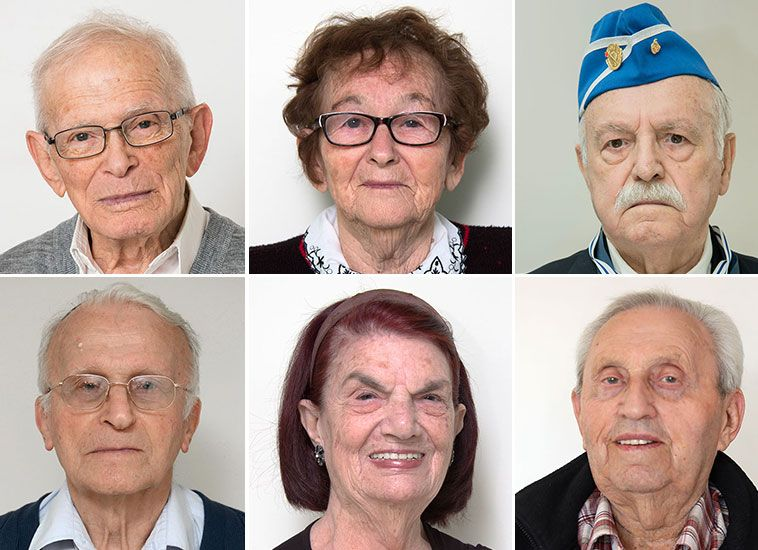 Online now: the incredible stories of the six Holocaust survivors chosen to light torches at the opening ceremony marking Holocaust Martyr's and Heroes' Remembrance Day 2017