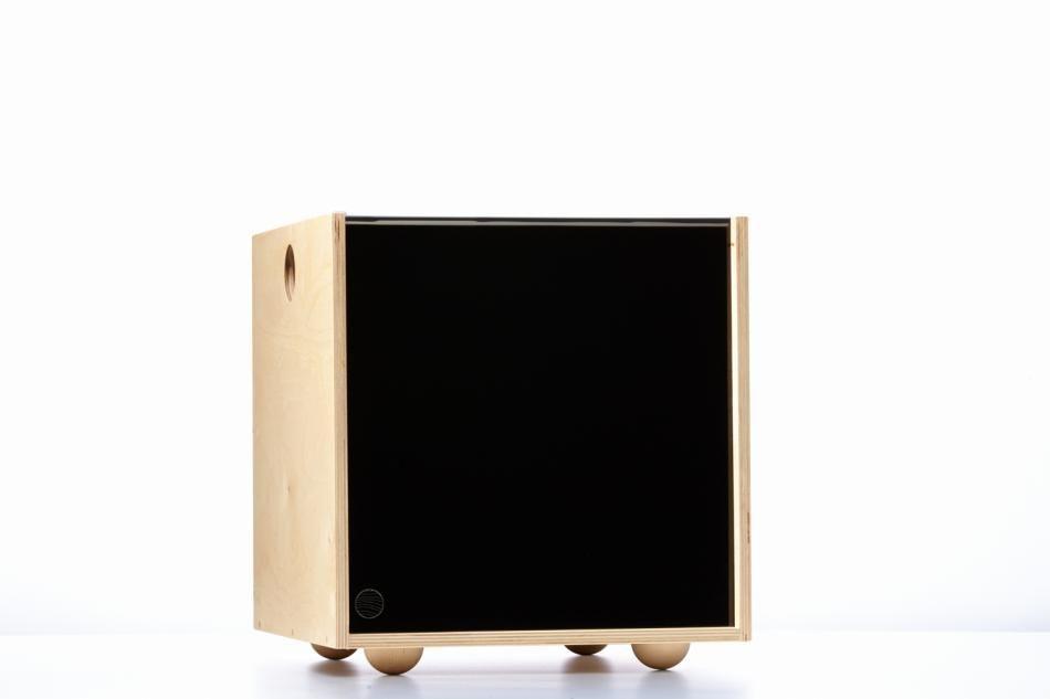 Storage Cube | Vinyl Record Storage| Simple Wood Goods Simplewoodgoods.com