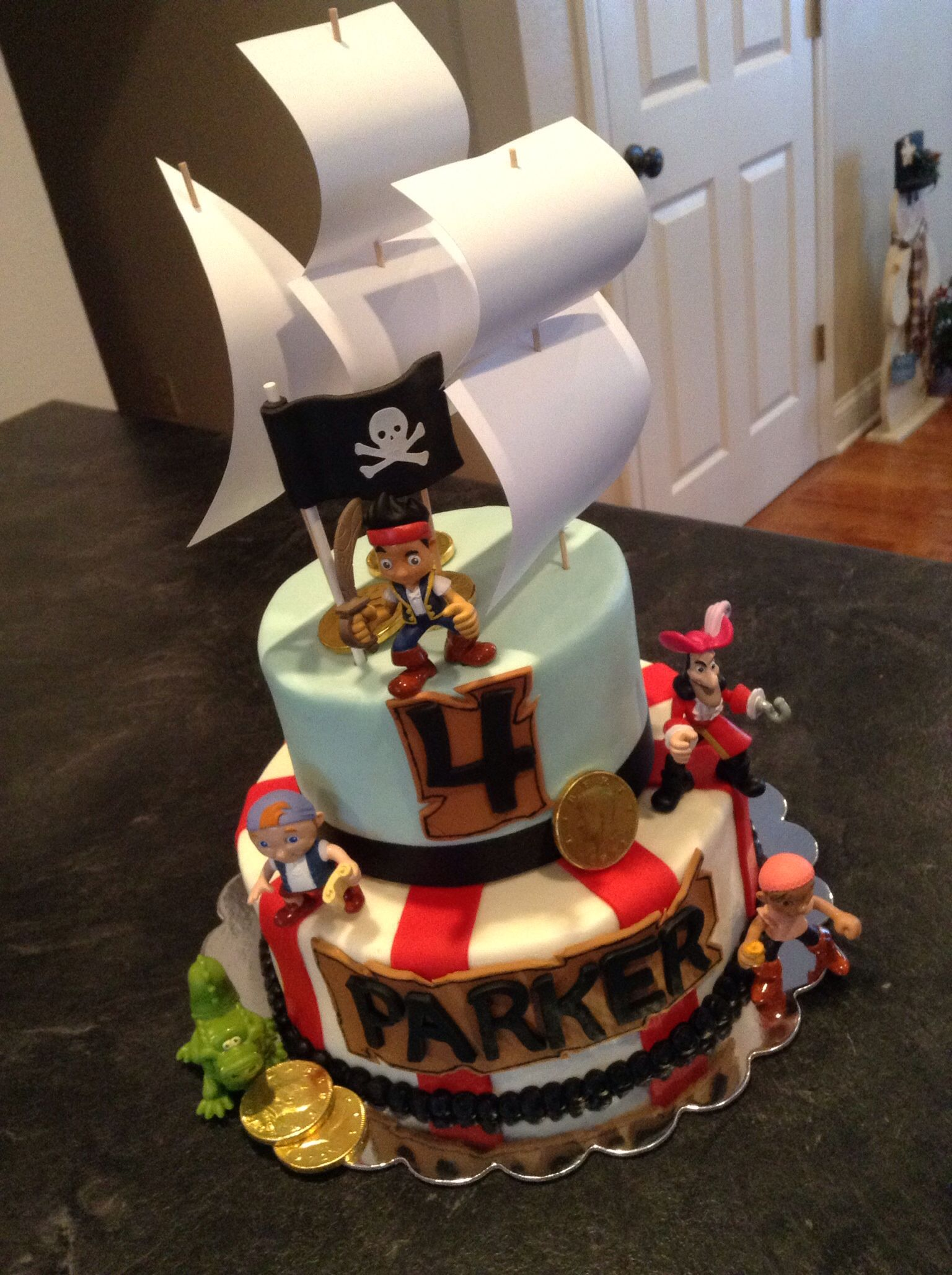 Jake and the Neverland Pirates Cake Dream Cakes by Melissa