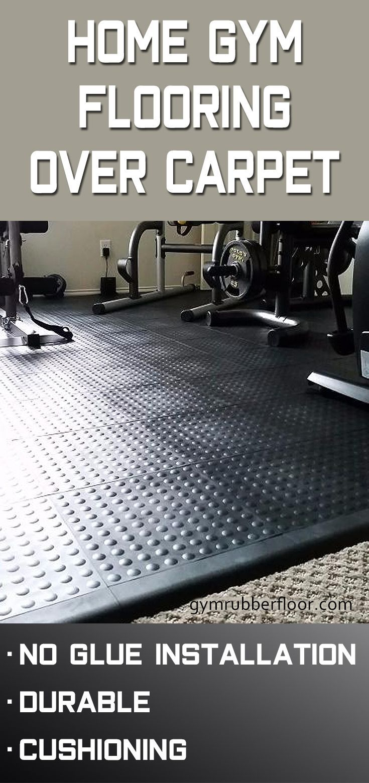StayLock Tile Bump Top Black in 2020 Home gym flooring