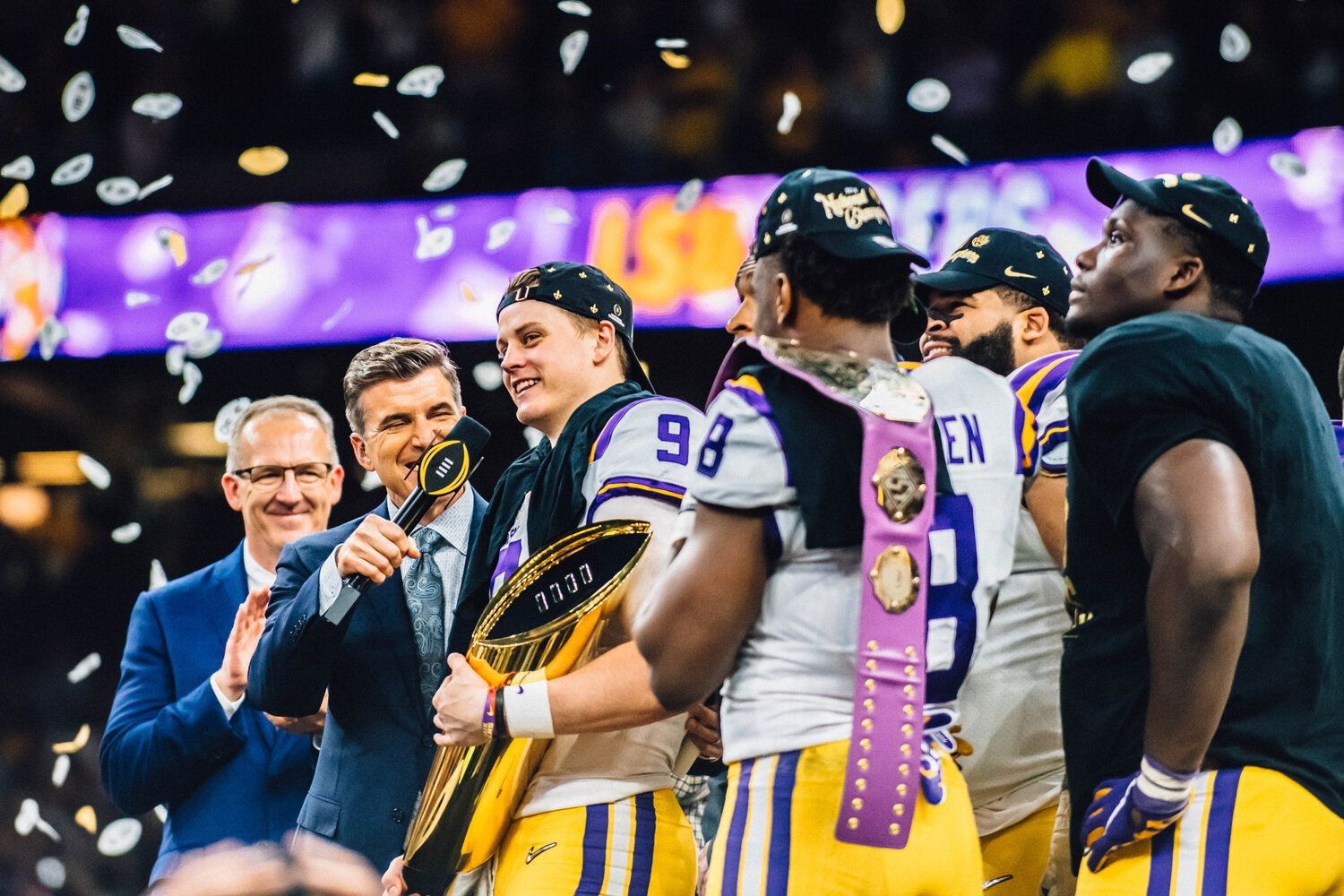 Lsu Football Undefeated Champions 2019 Sports Photography Jordan Hefler In 2020 Lsu Football Lsu Sports Photography