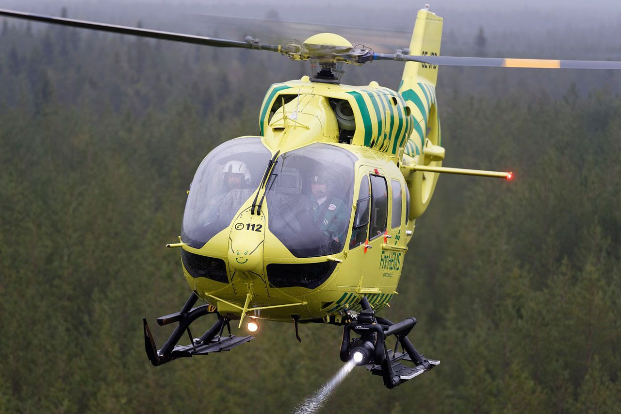 Elicottero H145 : Finnish hems h helicopter photo airbus helicopters