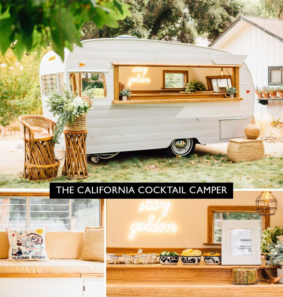 Outdoor Wedding Bar Ideas: The 16 Cutest Mobile Bars For Your Wedding