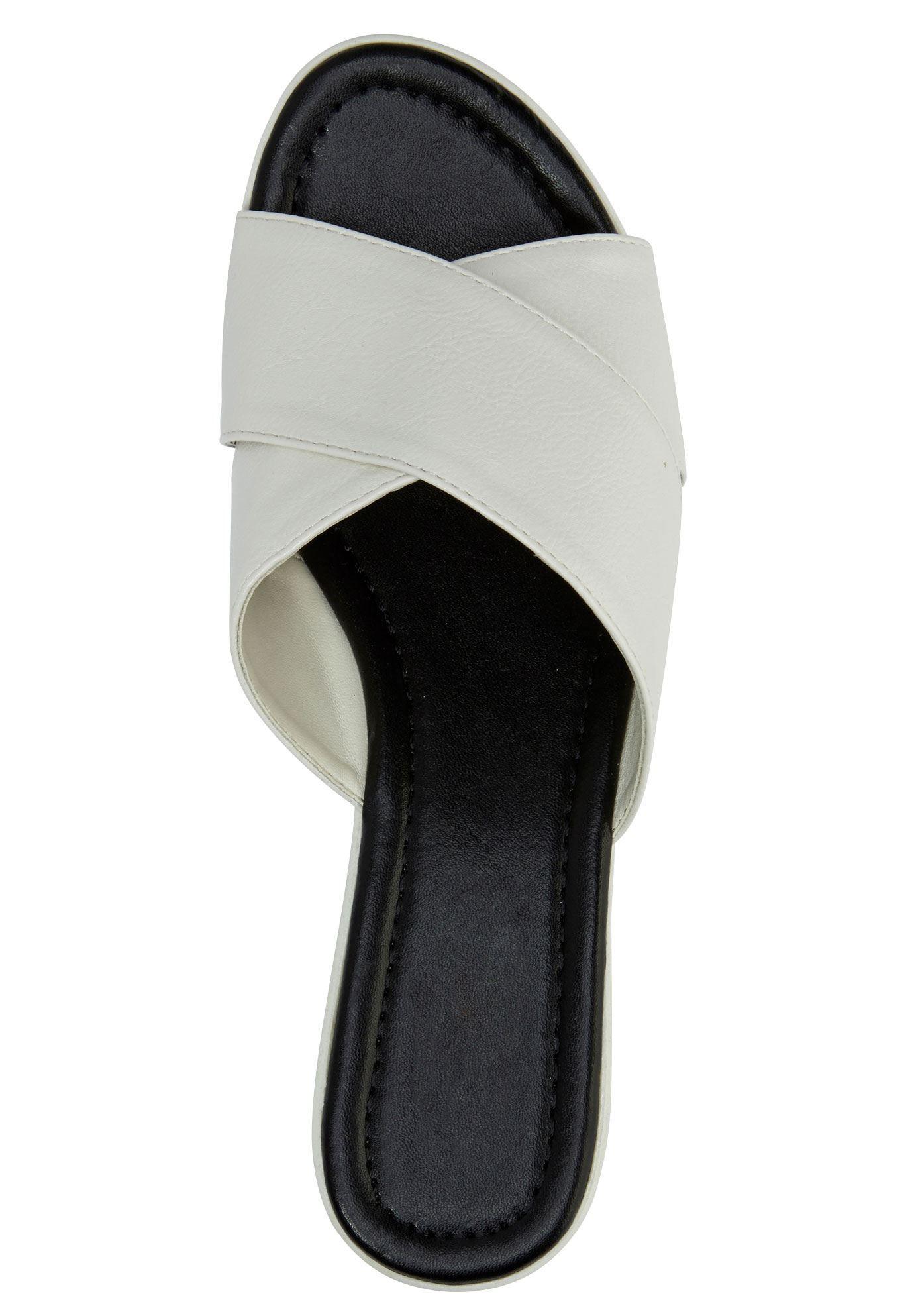 Ellos Womens Plus Size Leather Belt