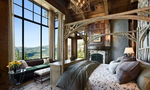 20 Beautiful Rustic Bedroom Ideas Bedrooms Rustic