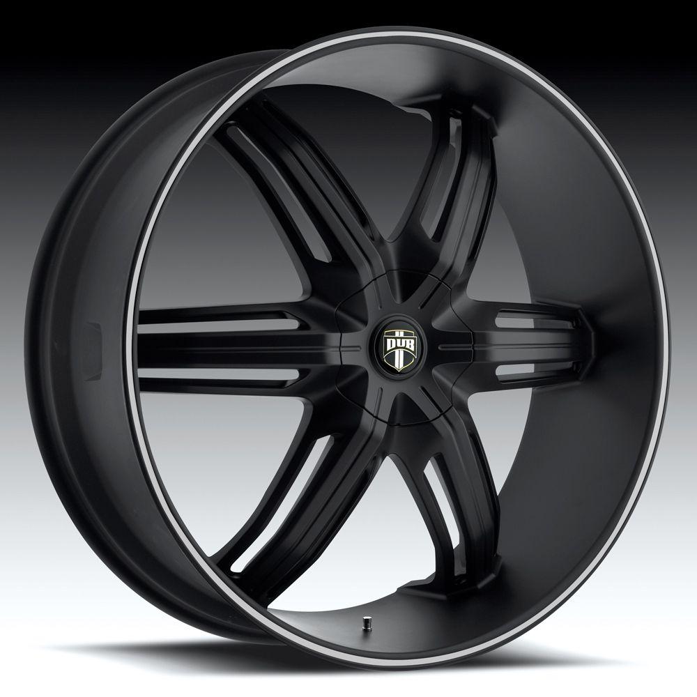 ... Black Wheels - DUB ALLOYS