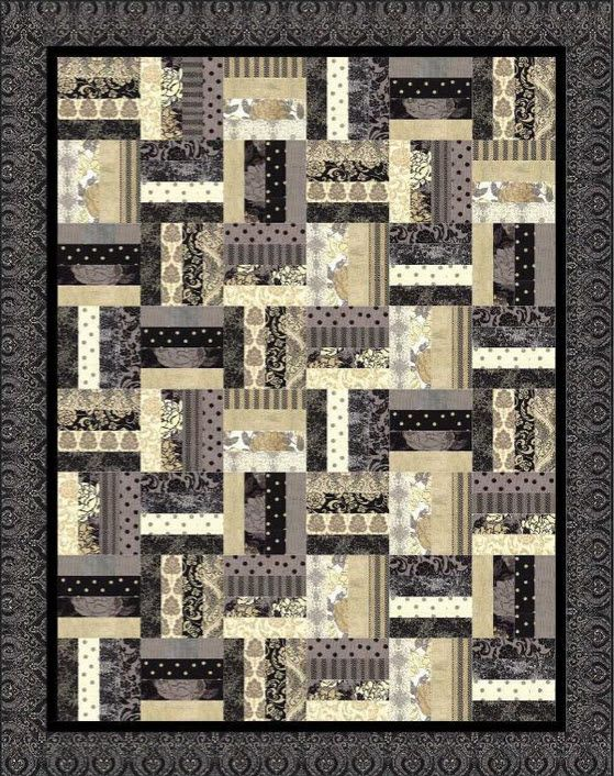 chair rail quilt pattern