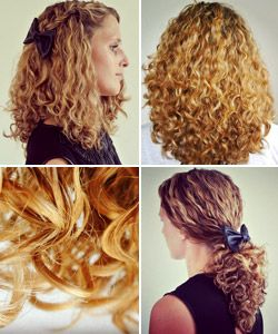 Curly Hair Routine For Gorgeous Type 3a Curls With Images
