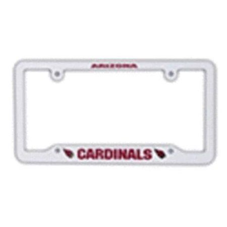 Arizona Cardinals White Plastic License Plate Frame Multicolor  sc 1 th 225 & Arizona Cardinals White Plastic License Plate Frame Multicolor ...