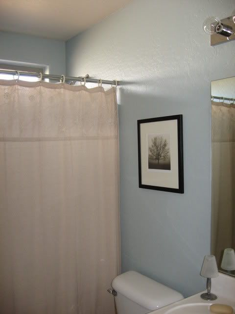 Pennystone Guest Bathroom Paint Benjamin Moore Beach