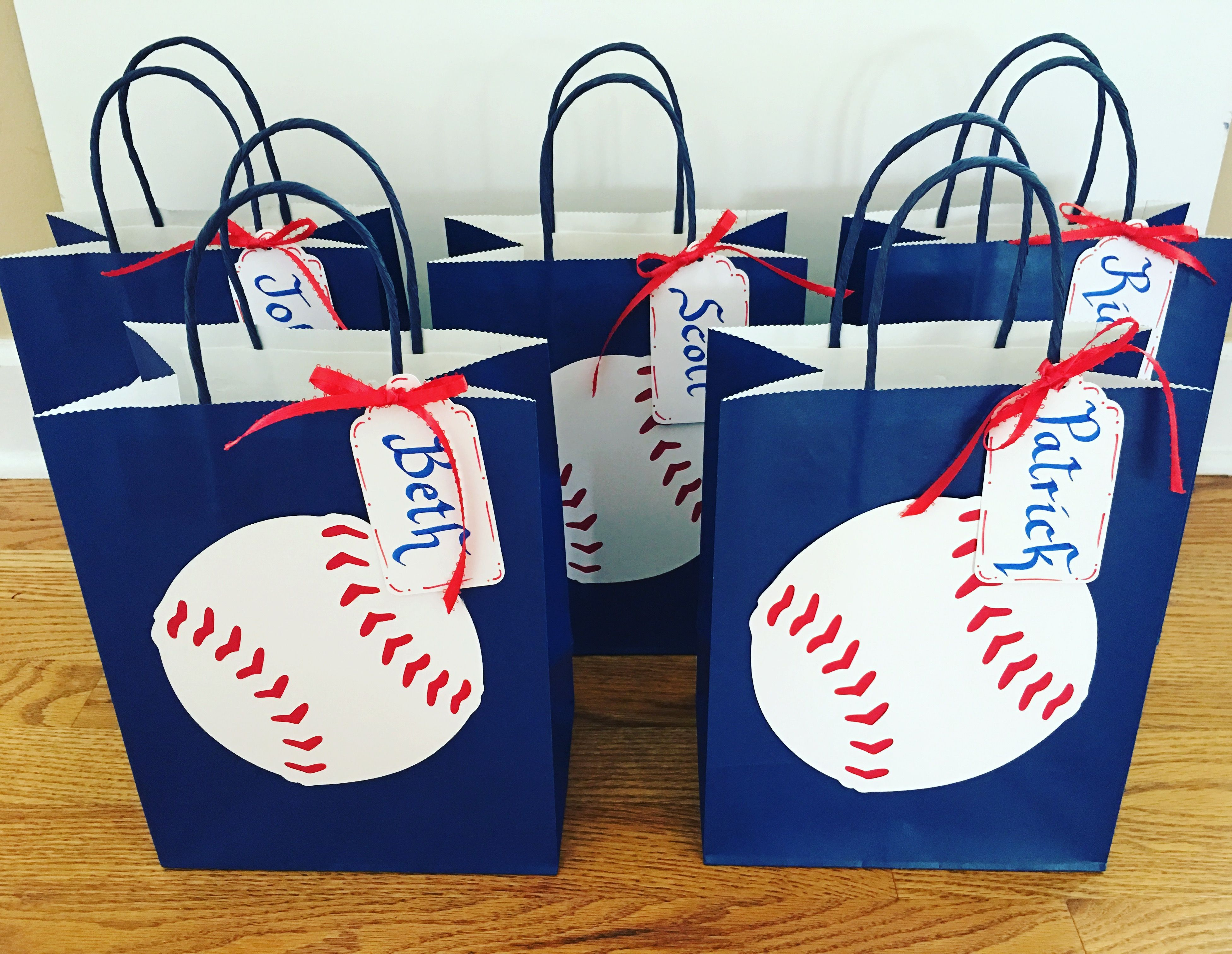 Baseball gift bag for coach gift with images coach