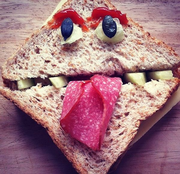 Monster Sandwich, picture only but looks easy to follow