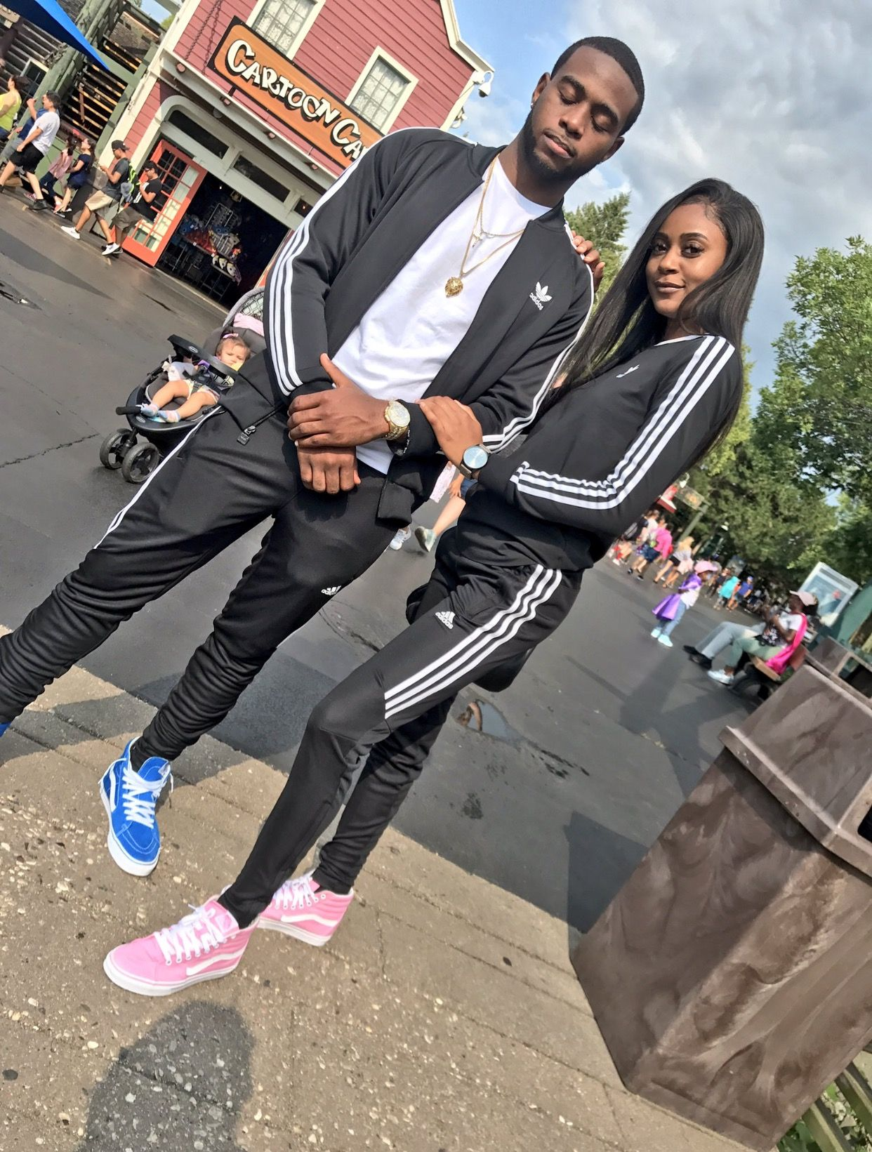 stunning couple outfits adidas 2017