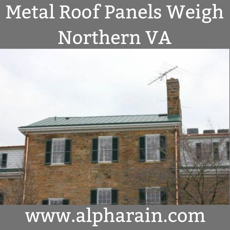 How Much Does a Metal Roof Panel Weigh (With images