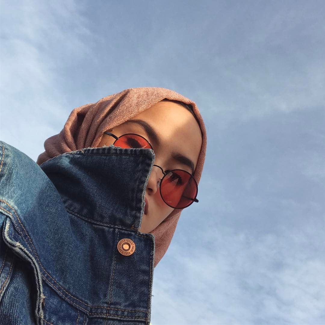 Aethestic selfie game strong hijab casual ootd hijab hijab chic hijab style
