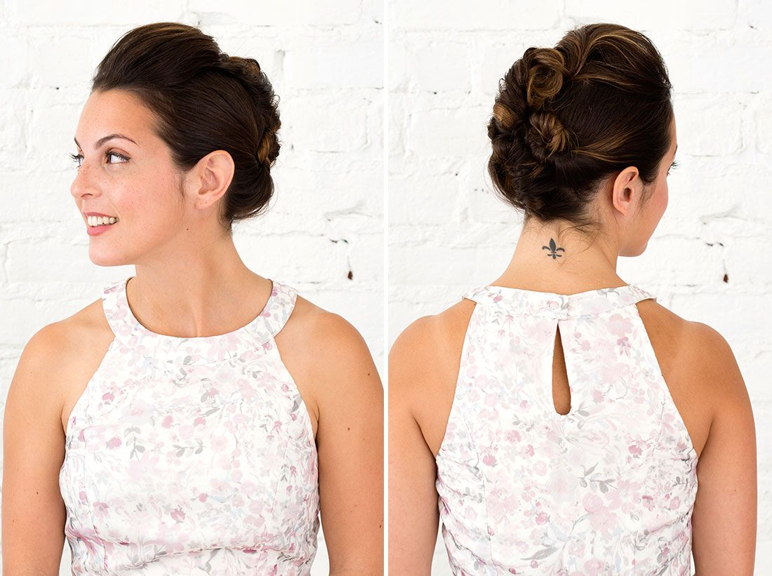 Short Hair? DO Care About These 3 Updos for Bridesmaids With Short ...