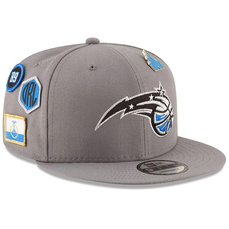 2ae3a69d827 Orlando Magic New Era 2018 NBA Draft 9FIFTY Adjustable Hat – Gray ...