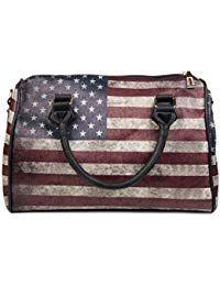 Usa Stripes Handtasche Im Starsamp; Vintage Stylebreaker 8ONwy0vmn