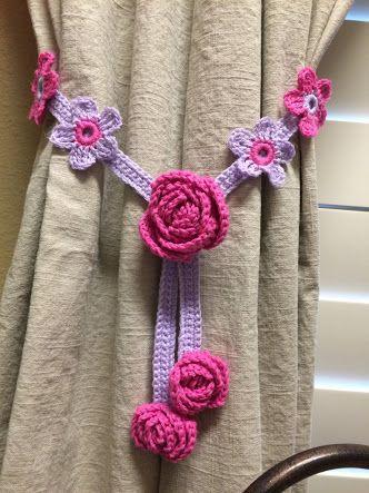 Resultado de imagen para cortinas tejidas a crochet con uvas